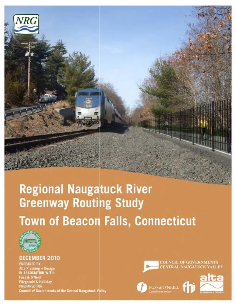 COGCNV Naugatuck River Greenway Routing Study Beacon Falls 0 Cover