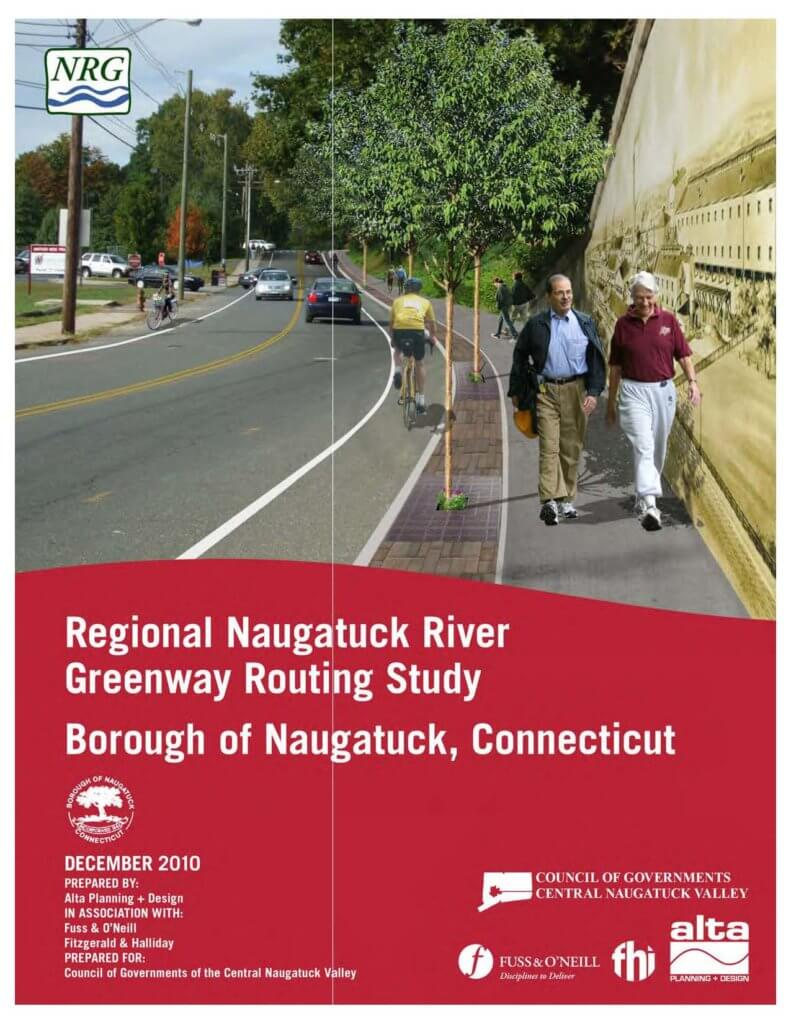 COGCNV Naugatuck River Greenway Routing Study Naugatuck Cover