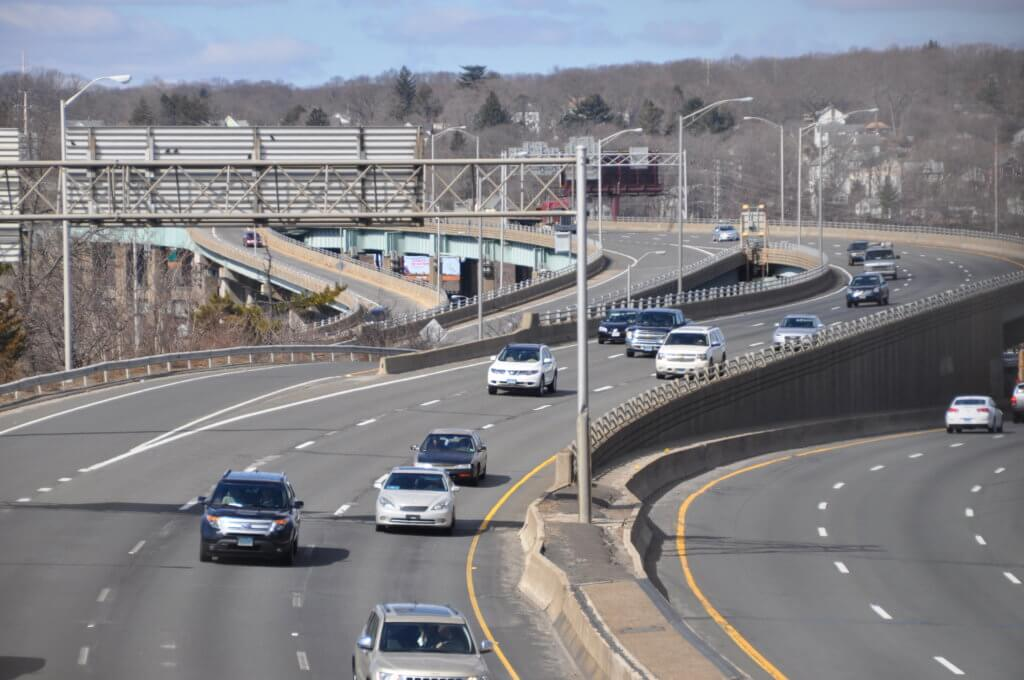I-84 in Waterbury