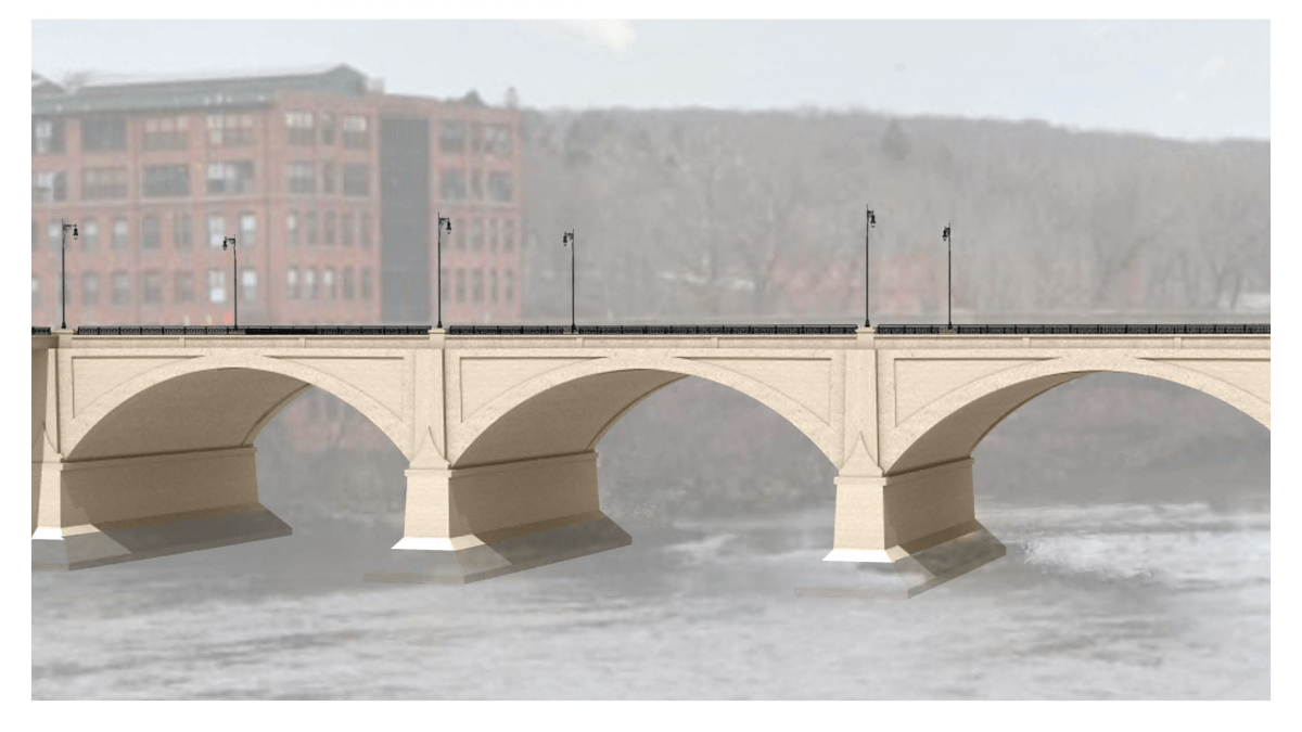 3D drawing of proposed bridge