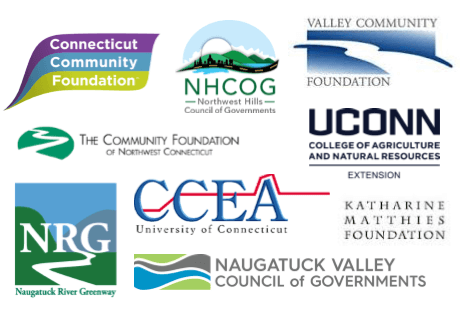 Logos of organizations involved in the Economic Impact Study