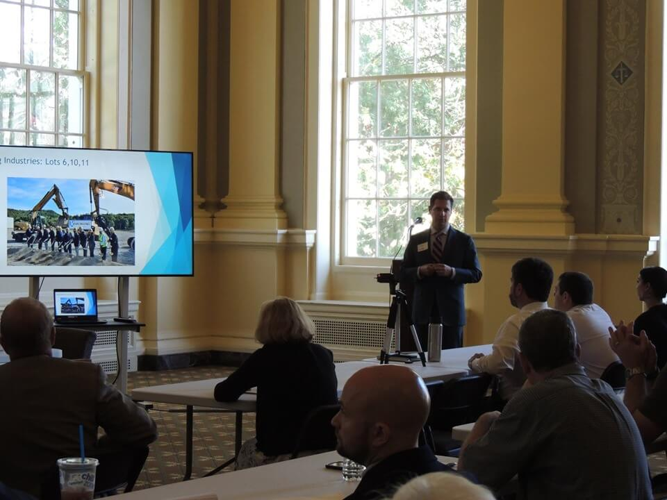 Jim Nardozzi presenting.