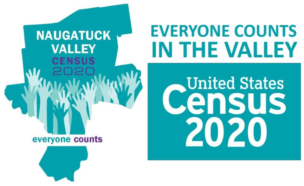Naugatuck Valley 2020 Census logo