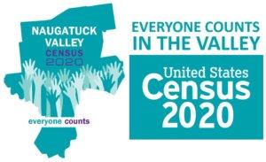 Naugatuck Valley 2020 Census logo