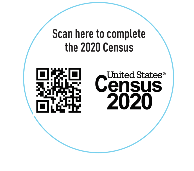QR code to go to Census Website
