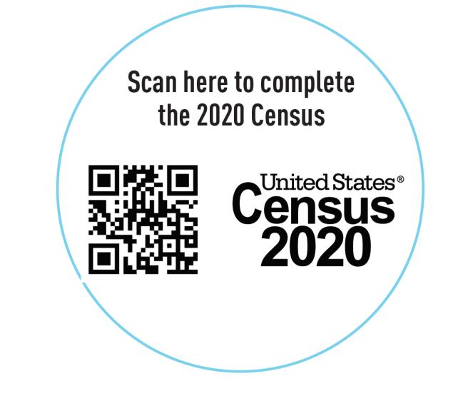 QR code to go to Census Website