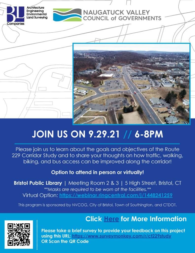 Flyer for public information meeting