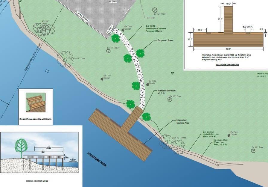 O'Sullivan's Island Viewing & Fishing Platform Sketch