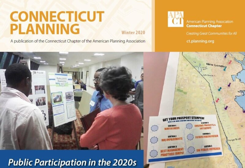 Connecticut Planning magazine cover Winter 2020